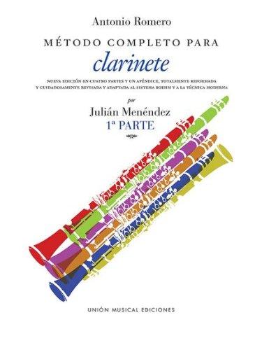 ROMERO A. - Metodo Vol.1 para Clarinete (Menendez)