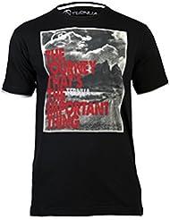 Ternua Hottah - Camiseta para hombre, color negro