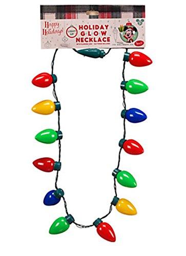 Disney Parks Urlaub Weihnachten Licht Glow Halskette–Blinkende Weihnachtsbaum LED Beleuchtung