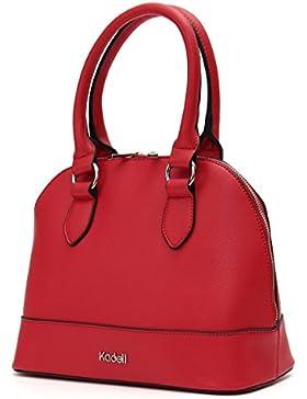 Kadell Frauen Top Handle Vintage Style Handtasche Umhängetasche Geldbörse Satchel