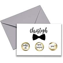 Geschenk 1 Hochzeitstag Trauzeuge