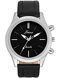 Jainx Fashion Black Dial Analog Watch For Men & Boys - JM281