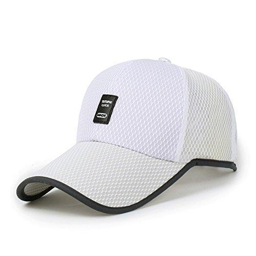 Baseball Kappe Flache Kappe Herren Damen Unisex Im Freien Gemächlich Atmungsaktiv Sommer Sonnenhut Sport Hüte