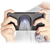 YUOKI Mobile Phone Cooler Fan Holder Cooling Pad Gamepad Game Gaming Shooter Mute Radiator Controller Heat Sink Works with IPhone Android
