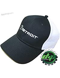Cummins L XL Detroit Diesel Fitted Ball Cap semi Trucker hat Gear mesh Flex  fit 172f5930f665