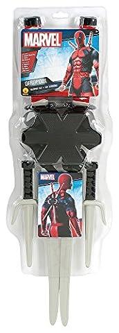 Rubie's Costume officiel pour adulte Deadpool avec arme kit–Taille