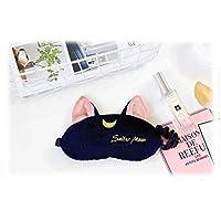 HorBous Schlafmaske Augenmaske Nachtmaske Augenbinde weiß/blau Plüsch Katzen Augenmaske Augenschutz Schlaf + Ohrstöpsel... preisvergleich bei billige-tabletten.eu