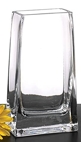 Badash S403 Cristal rectangle Tour Vase