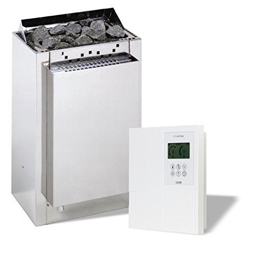 Infraworld Saunaofen Verdampfer Hotline S4 9 kW inkl. Steuerung Slimeline 1200