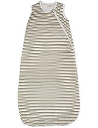 Perlimpinpin Bamboo Printed Nap Bag in Pink Stripes in Choco Stripes