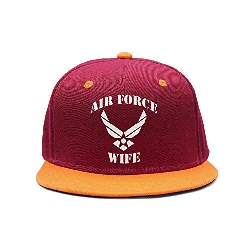 DAIAII Cappellini da Baseball, Air Force Wife Decal Vintage Adjustable Jeans Caps Baseball Caps for Adult Air Force Wife-3