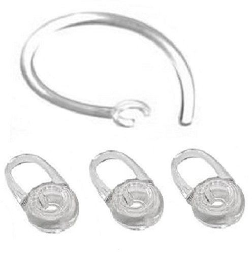 3 Ersatz-Ohr-Gel und 1 Ohrbügel Für Plantronics M70, M90, Voyager Edge 3 Ear-gels