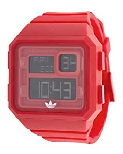 Adidas Herren Plastik Gehäuse Mineral Glas Uhr ADH2773