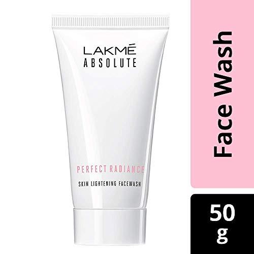 Lakme Absolute perfekte Ausstrahlung Skin Lightening Facewash, 50g