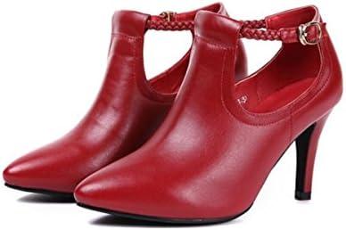 GTVERNH Zapatos de Mujer/Pointy Lady 7 Cm Zapatos De Tacon Alto Sexy Delgado Hollow Sandalias Zapatos De Novia...