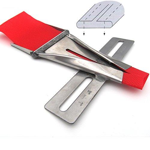 kunpeng-# kp-4101Zwei Seiten nach oben Rückseite Gürtelschlaufe Ordner für 2Nadel Nähmaschine Tape Size:2~ Finish Size:1 -