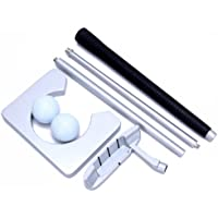 Executive Complete Indoor Golf Putter Gift Set Shaft 4-Section with Ball Hole-Cup