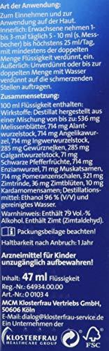 Zoom IMG-3 klosterfrau melissengeist 47 ml by