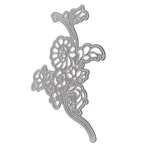 broadroot Metall Cirrus Flower Formen Schablonen Scrapbooking Album Karte DIY Craft