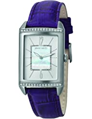 Pierre Cardin Damen-Armbanduhr Celebrite Analog Quarz Leder