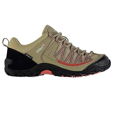 Gelert Damen Rocky Wasserdicht Wanderschuhe Outdoor Schuhe Atmungsaktiv Beige 7 (41)
