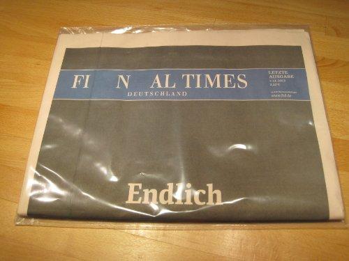 Financial Times Deutschland (letzte Ausgabe)