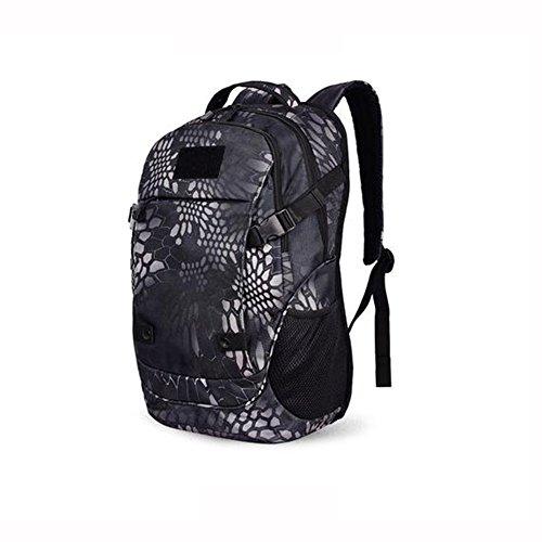 HQ Camouflage Travel Bag Outdoor Backpack Mountaineering Bag Laptop Bag Hiking Camping Casual ( Color : 2 )