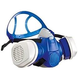 Kit respiratoire Dräger X-plore 3300® Demi-Masque Peinture avec filtres A2P3RD remplaçables adapté aux peintures solvants & polyuréthanes et aux poussières - Taille M