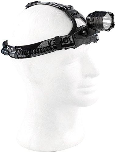 KryoLights Akku Kopflampe: Akku-Stirnlampe SL-1010.c mit Cree-LED, 1.000 Lumen, 10 Watt (Headlight)