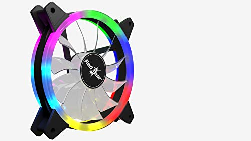 Redgear Turbo F-1 Case Cooling Fan with auto RGB for PC