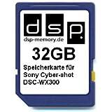 DSP Memory Z-4051557380523 32GB Speicherkarte für Sony Cyber-shot DSC-WX300