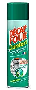 Decapfour - Nettoyant Ménager pour Fours - Confort - Aérosol - 500 ml
