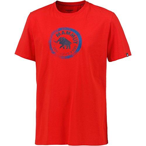 Mammut Seile T-Shirt Men - Freizeitshirt spicy