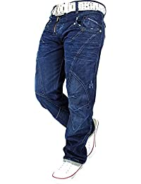 ORIGINAL Cipo & Baxx Herren Jeans Hose Zipper Mens Pants Dope Swag TOP