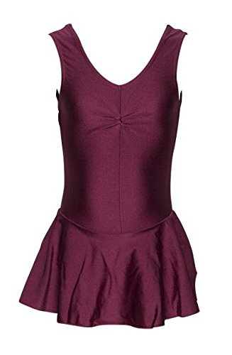 KDR005 Girls Lycra Ballet Dance Gym Leotard With Skirt Outfit All New Colours & Sizes By Katz Dancewear