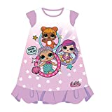 Cerdá Camisón LOL, Camiseta para Niñas, (Rosa C05), 8 años