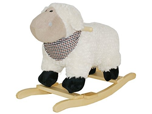 Dunjo® Cheval à Bascule, Mouton avec mélodie