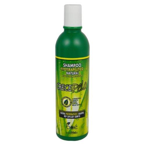 Crece Pelo Shampoo Fitoterapeutico Natural (Natural Phitoterapeutic  Shampoo) 13.2 Fl Oz( 370 ml 3f1ccfc71641