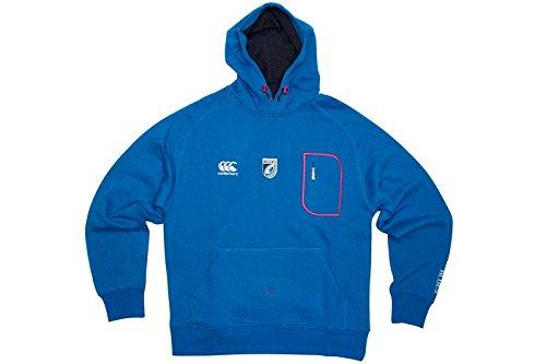 2014-2015 Cardiff Blues Rugby OTH Training Hoody (Blue)