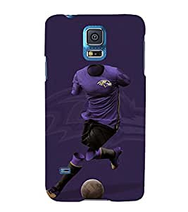 Print Masti Designer Back Case Cover for Samsung Galaxy S5 :: Samsung Galaxy S5 G900I :: Samsung Galaxy S5 G900A G900F G900I G900M G900T G900W8 G900K (sportfans ball lover vector clipart)