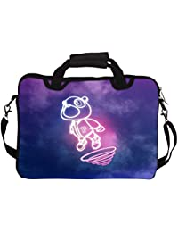 """Snoogg Cartoon Cute Fly 10"""" 10.5"""" 10.6"""" Inch Laptop Notebook SlipCase With Shoulder Strap Handle Sleeve Soft Case..."""