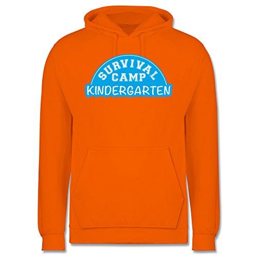 Sonstige Berufe - Survival Camp Kindergarten - Männer Premium Kapuzenpullover / Hoodie Orange