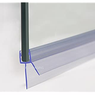 HNNHOME Bath Shower Screen Door Seal For 4-6mm Glass Up To 20 mm Gap