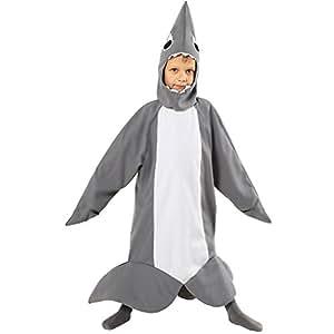 hai shark kost m f r kinder faschingskost me 110 116 spielzeug. Black Bedroom Furniture Sets. Home Design Ideas