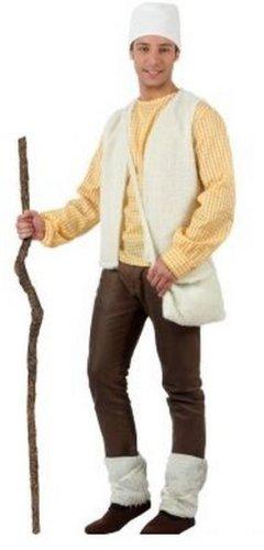 Atosa - Disfraz de pastor para hombre, talla 50 - 52 (8422259116295)