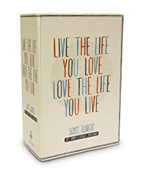 By Scott Albrecht - Live the Life You Love Postcard Box: 100 Hand-Lettered Postcards (Crds)