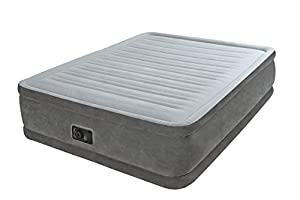 Intex Matelas gonflable - Comfort-Plush Elevated Queen - 203x152x46 cm