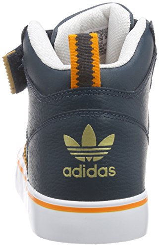 adidas Originals Varial 2.0 Mid Unisex-Erwachsene Low-Top Blau (Midnight F15/Bright Orange/FTWR White)