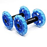 HBLJ ♫ Procircle Ab Wheels Rulli per esercizi addominali per il core training Forza esercizio Crossfit Gym Body Fitness a due ruote