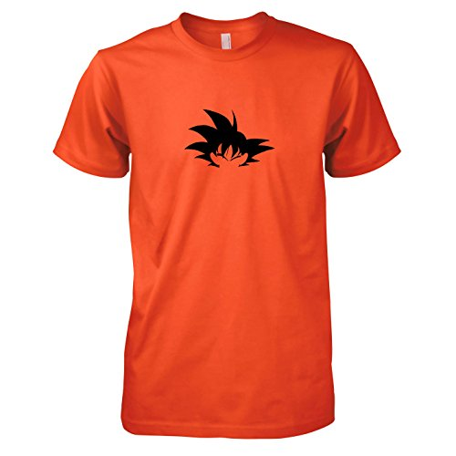 TEXLAB - DBZ: Hair - Herren T-Shirt Orange